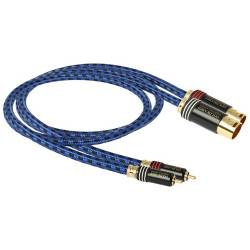 Goldkabel highline series CINCH auf XLR STEREO Stecker MKIII