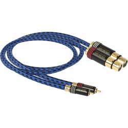 Goldkabel highline series CINCH auf XLR STEREO Kupplung MKIII